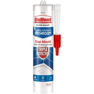 UniBond 2079321 Mildew repellant for kitchen and bathroom White 291g