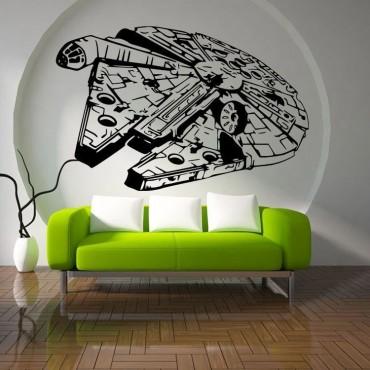 wall sticker 3d  Art Design Star Wars Decal Decor Kids Geek Gamer Removable