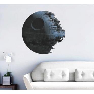 wall sticker 3d DIY Death Star Star Wars Decal Vinyl Art Mural Removable Home Decor