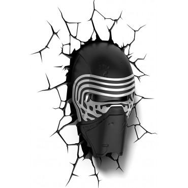 wall sticker 3d Star Wars Kylo Ren Mask Wall Sticker