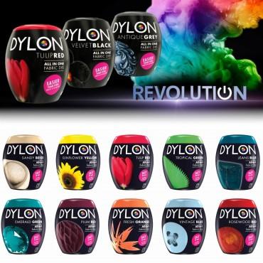 DYLON Washing Machine Fabric Dye Pod for Clothes & Soft Furnishings, 350g