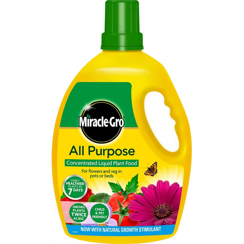 Miracle-Gro All Purpose Concentrate Liquid Plant Food 2.5L