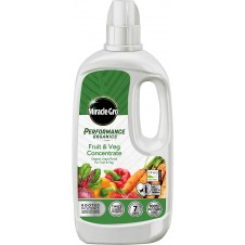 Miracle-Gro Performance Organics Fruit & Veg Liquid Concentrate Food 1 litre