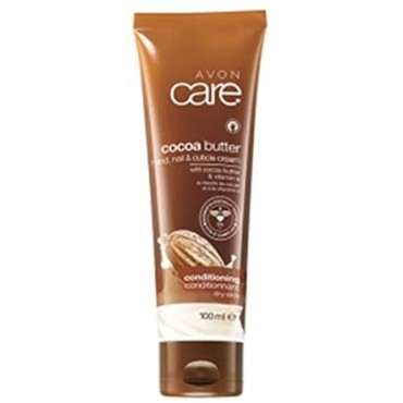 Avon Care Smoothing Cream for Hands, Nails and Skin with Cocoa Butter and Vitamin E 100 ml