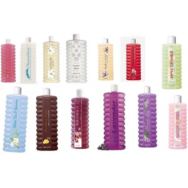 Avon BUBBLE BATH 500ml VARIOUS SCENTS  Pack of 4 x 500ml