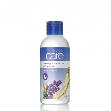 Avon Care Lavender Overnight Moisture Bath & Body Oil
