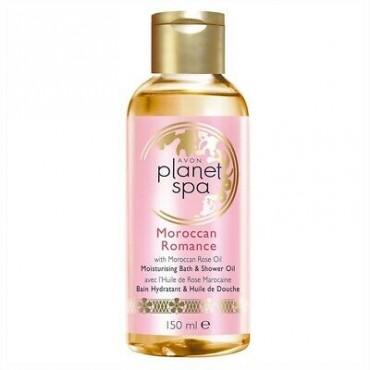 Avon Planet Spa Moroccan Romance Moisturising Bath & Shower Oil 150ml