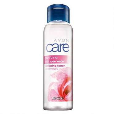 Avon Care Rose Water Cleansing Toner 100ml