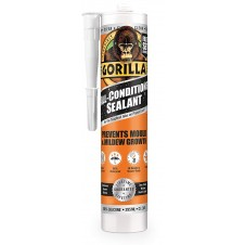 Gorilla All Conditions Sealant Silicone Clear 295ml