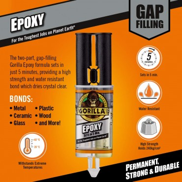 Gorilla Glue Epoxy 25ml