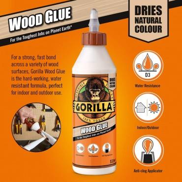 Gorilla Glue Wood Glue 1L