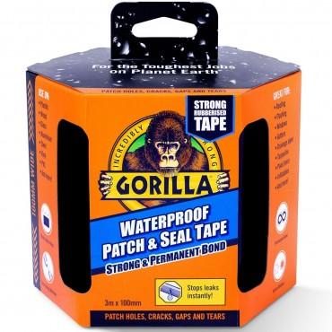 Gorilla Waterproof Patch & Seal Tape 3m Black