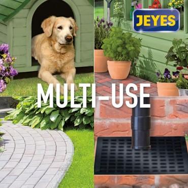 Jeyes Fluid Outdoor Cleaner & Disinfectant for Paths, Patios, Driveways, Pet Housing & Unblocking Drains, 1 Litre Blue