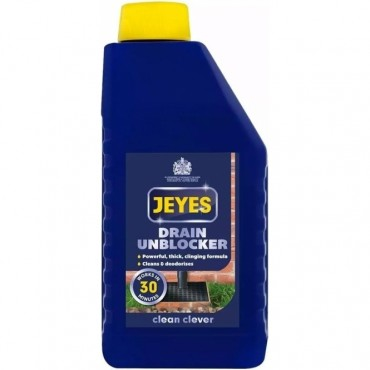 Jeyes Drain Unblocker  Cleaner and Freshener 1L