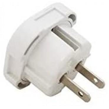 Travel Adapter Plug (UK TO US/AUS/CANADA, White)