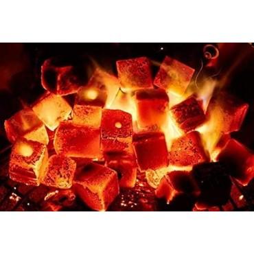 Coconut Charcoal Coal Premium Coconut Charcoal Coal 2 kg - 144 Pieces