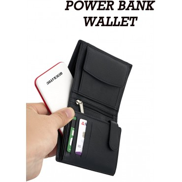 Power Bank 5000mAh, Credit Card Size Pocket,Wallet Power Bank with Built-In Micro USB & 1 port output Fast charging