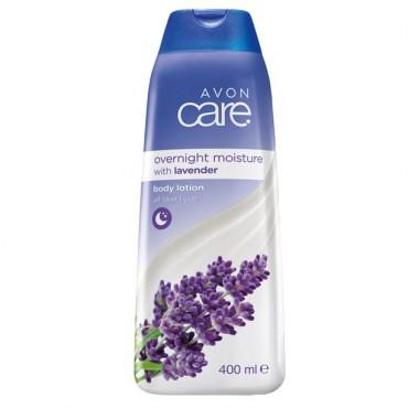 Avon care Lavender Overnight Moisture Body Lotion 400 ml