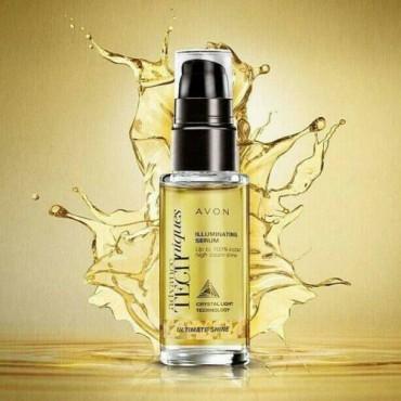 Avon Ultimate Shine Illuminating Hair Serum - 30ml