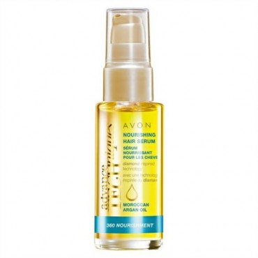 Avon Advance Techniques 360 Nourishment Moroccan Argan Oil Nourishing Hair Serum 30ml