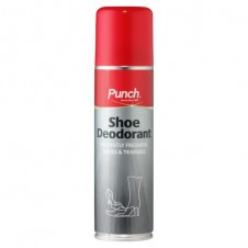 PUNCH Shoe Deodorant Instantly freshens shoes and trainers 200ml