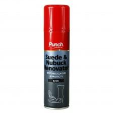 Punch Suede Nubuck Renovator Spray Black 200ml